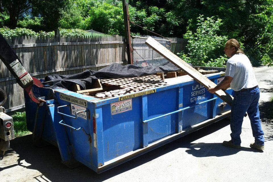 Ed LaPlaca Roll-Off Dumpster 4