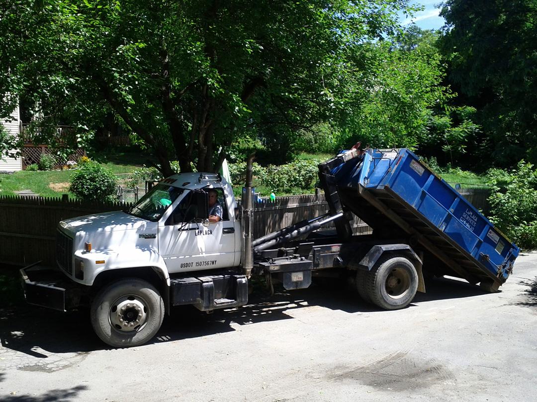 Ed LaPlaca Dumpsters - Residential Dumpster Rentals
