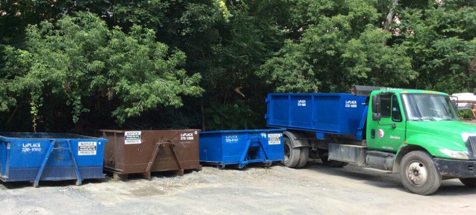 Various Dumpsters